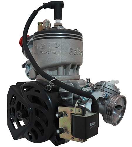PRD Kart Engine 125 Galaxy Water Cooled